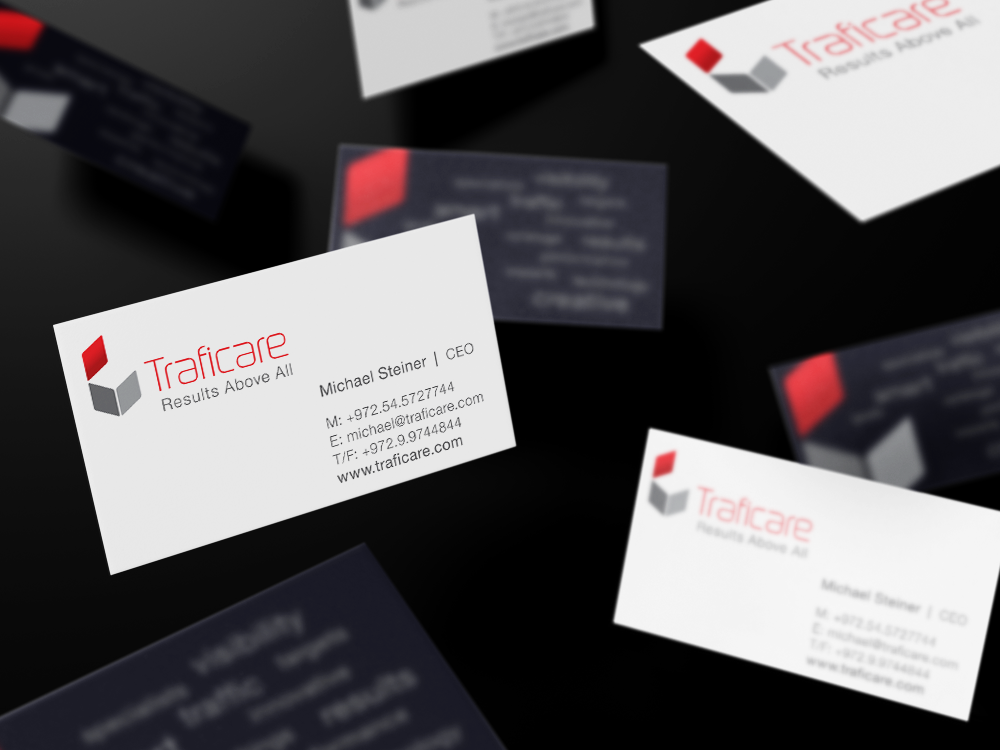 Traficare Branding, stationary and website design