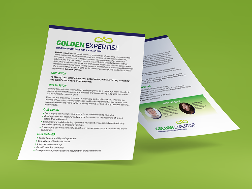 Golden-Expertise Print